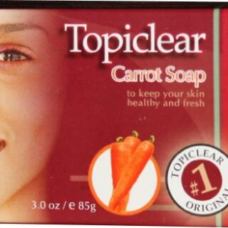 Topiclear Carrot Soap 3 oz.