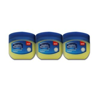 Vaseline BlueSeal Pure Petroleum Jelly 1.7oz (50ml) Jar (Pack of 3)