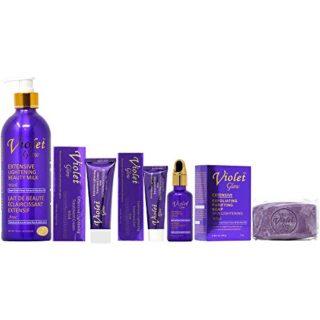Buy Violet Glow Beauty Set | Skin Brightening | Benefits | Best Price | OBS